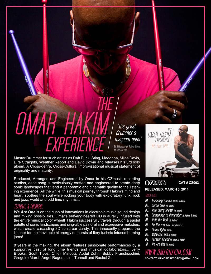 Omar Hakim One Sheet